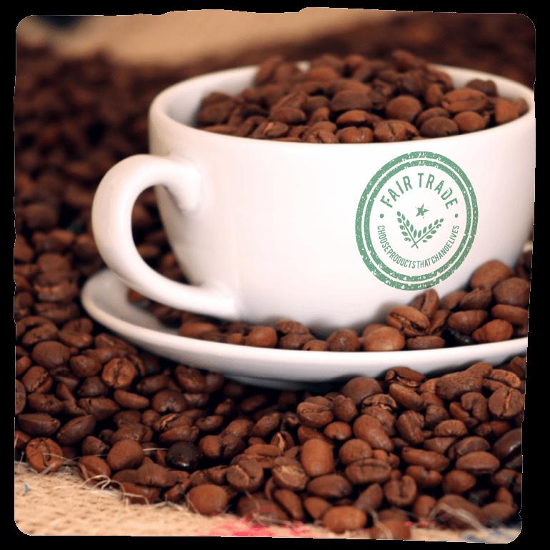 Kaffe der Fair gehandelt wurde