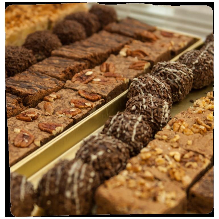 Bio Kekse und Kuchen