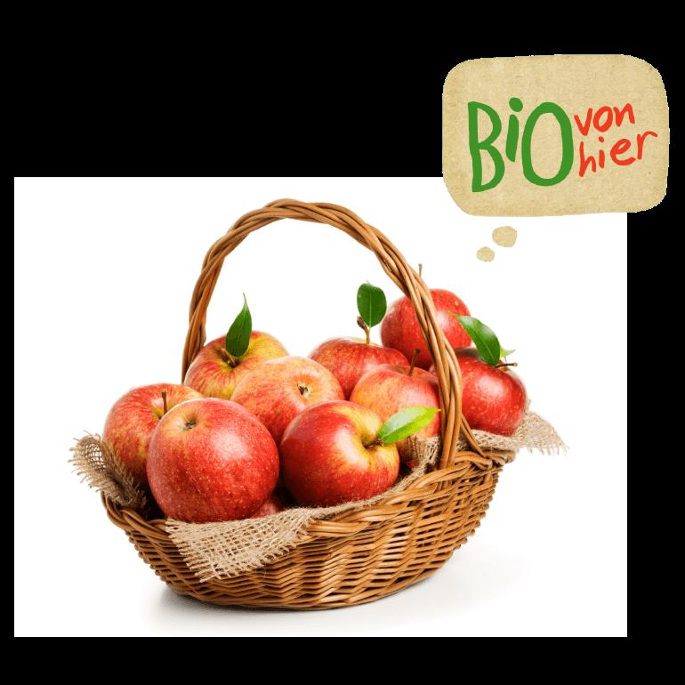 Apfelkorb