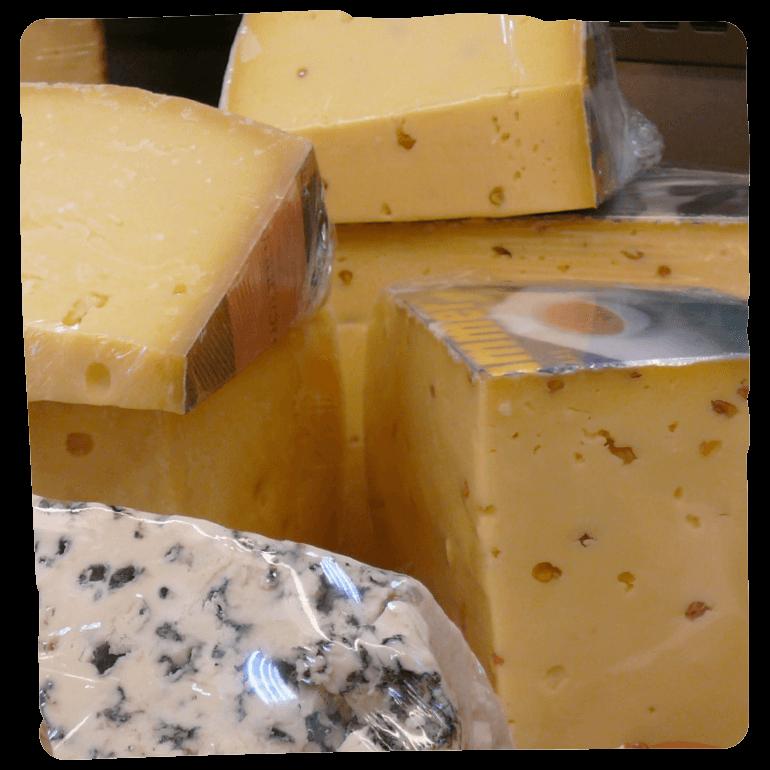 Käseprodukte bei Bio Baier