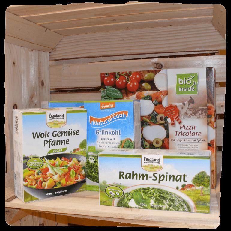 Tiefkühlwaren bei Bio Baier
